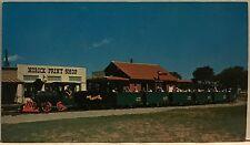 Original Vintage Railroad Postcard– Train– Engine– Frontier City USA- Oklahoma