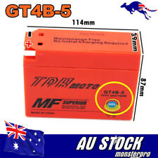 GT4B-5 YT4B-BS AGM Battery Suzuki 70 DR-Z70 YAMAHA TTR50 TTR90 SR400