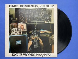 Dave Edmunds ROCKER Early Works 1968-1972 LP Vinyl Album Parlophone Records