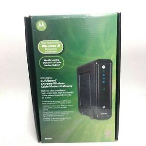 Motorola SBG6580 SURFboard 343 Mbps 4 Port Gigabit Wireless Cable Modem CLEARANC