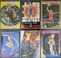Lot of (6) Blake Griffin, Including HighVoltage, Hoops gold, Mosaic/Optic & more