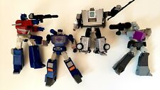 Transformers R.E.D. Megatron Optimus Prime Soundwave Lot +Gigawatt