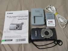 Canon PowerShot SD3500 IS 14.1 MP Digital Camera Bundle 2 Batteries~Charger+More