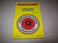 IL GIALLO MONDADORI ORO N.15 CARABINIERI IN GIALLO 6 2013 CURA ROBERTO RICCARDI!