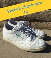 Reebok Classics Vintage Mens Size 12 Ivory Green White Shoes Collector
