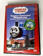 THOMAS & FRIENDS Thomas' Christmas Wonderland DVD 2002 With Bonus CD *Rare*