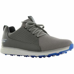 Skechers Mens GoGolf Mojo Elite Spikeless Golf Shoes - Charcoal/Blue