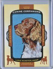 2017 Ud Goodwin Champions Canine Companions Dog Patch Cc30 Large Munsterlander