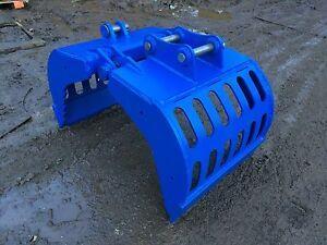 2-3 ton Excavator selector /  sorting grab HARDOX!!! VAT INCLUSIVE,FREE DELIVERY