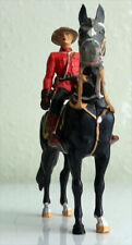 70mm Mountie on Horse Rider Elastolin Wonderful Condition
