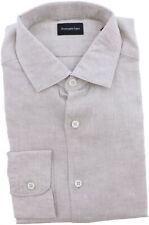 Zegna Men's Couture Cotton Dress Shirt