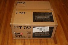 NAD T 757 7.1 Channel 770 Watt Receiver ~ With Original Box plus more