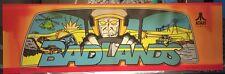 """Badlands Atari Arcade Marquee 26"""" x 8"""""""