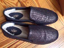 Ugg Australia Sandrinne Espandrilles Black Bronze Metallic 39 neu