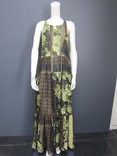 ANTONIO MARRAS for KENZO 100 % silk long dress NEW size 40 french