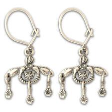 Greek Jewelry ~ Ancient Minoan-Malia Bees - Sterling Silver Hook Earrings