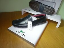 LACOSTE MENS CONCOURS 16 SOFT LEATHER LOAFERS/DRIVING SHOE SIZE UK11/EU46 RR£130