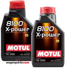 Aceite Motor Motul 8100 X-Power 10W60 ACEA A3/B4, Pack 2 Litros