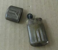 antiguo Mechero encendedor Feudor petaca Lighter Gasolina mecha