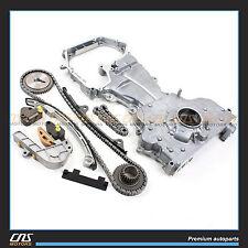 02-06 FITS Nissan Altima Sentra 2.5L QR25DE Timing Chain Kit w/ Oil pump