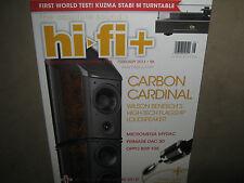 NEW! HI-FI+ HiFiPlus UK February 2013 Issue 96 Kuzma Stabi M Turntable Stere $11