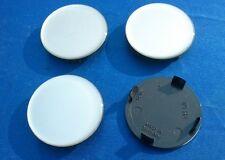 (RH60 Silber Sil.) 4x Nabenkappen Felgendeckel 59,5 / 54,5 mm für Alufelgen
