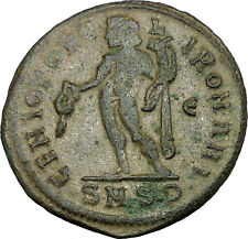 GALERIUS 305AD Large Ancient Roman Coin NUDE GENIUS Wealth PROTECTION i34174