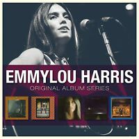 Emmylou Harris ORIGINAL ALBUM SERIES Box Set ELITE HOTEL Luxury Liner NEW 5 CD