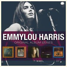 Emmylou Harris ORIGINAL ALBUM SERIES Box Set ELITE HOTEL Luxury Liner NEW 5 CD