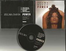 C&C Music Factory ZELMA DAVIS Power RARE EDITS & INSTRUMENTALS PROMO CD Single
