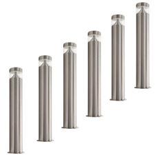 6 PACK* illucio LED Garden/Outdoor Lampost Bollard Lightingin Stainless Steel x6