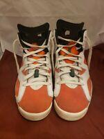 Air Jordan VI 6 Retro Gatorade Orange Green White 384664 145 Sz 11