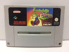 Lemmings Nintendo Super NES SNES Pal Loose