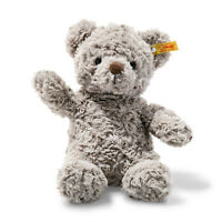 STEIFF® 113420 - Soft Cuddly Friends Honey Teddybär Grau Knopf im Ohr 28 cm Bär