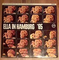 Ella Fitzgerald – Ella In Hamburg '65 Vinyl LP Album Mono 1965 Verve VLP. 9102