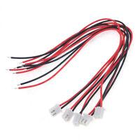 5Pcs 24AWG JST XH2.54 Plug Connector W/ Cable 20cm Length US