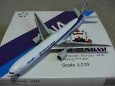 "ANA All Nippon Airways B-777-381 (JA755A) ""Gundam"" JC Wings, 1:200"