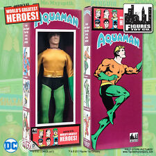 DC Comics Aquaman 8 inch Action Figure in Mego Style Retro Box