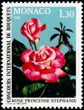 "MONACO STAMP TIMBRE N° 1251 "" BOUQUETS ROSE PRINCESSE STEPHANIE "" NEUF xx LUXE"