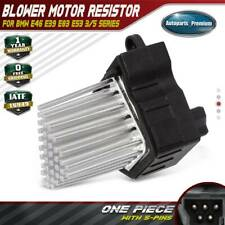 Heater Blower Motor Resistor for BMW E46 323i 325i 328i E39 525i X5 64116923204