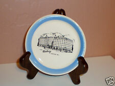 """The Westbury London"" Vanity Pin/Trinket Dish-Blue Rim- by Wade Made in England"