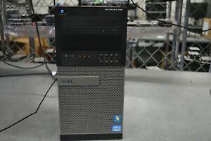 Dell Optiplex 790 MT Desktop Computer i7-2600 3.40GHz 4GB (2x2GB) RAM NO HDD