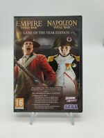 Napoleon and Empire Total War Collections GOTY EDITION PC DVD - PC Game