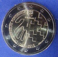 """PORTUGAL -  2 EUROS 2015 Gedenkmünzen   """" 150 Jahre Rotes Kreuz """""""