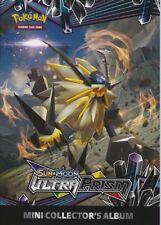 NEW Pokemon Sun & Moon Ultra Prism mini collectors album  ~ Holds 24 cards~