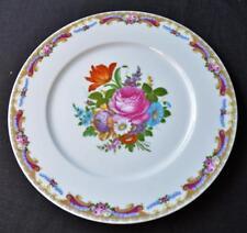 """GHERARDINI T. LIMOGES Italy Fine Porcelain FLOWERS Center 12 3/4""""d Platter"""