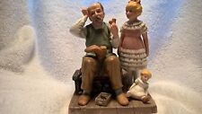 Norman Rockwell figurine, The Shoemaker, 1981 collector's club