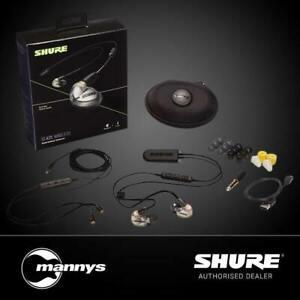 Shure SE425 BT2 Sound Isolating Earphones w/ 3.5mm & Bluetooth (Metallic Silver)