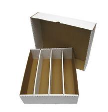 (10) Max Pro MP-BX-3200 Trading Card Storage Box Capacity Holder Case Full Lid