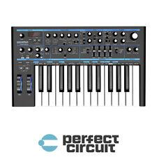 Novation Bass Station II Keyboard Analog SYNTHESIZER - NEW - PERFECT CIRCUIT
